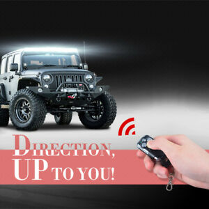 LED Light Bar Fog Light Driving Remote Control Switch Wireless ON/Off Strobe SUV