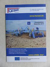 Farmet Tschechien - Firmenbulletin 2010 - Prospekt Brochure 12.2010 (0675
