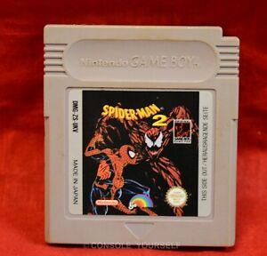SPIDER MAN 2 - USED CART ONLY - NINTENDO GAME BOY - PAL UKV