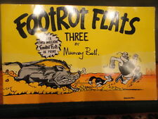 Footrot Flats Comic Book Three By Murray Ball 1983 Magazine vintage