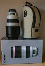 Canon EF 100-400mm F4.5-5.6 L Is II USM Lens - hardly used