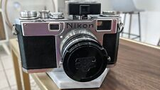 Nikon S2 w/ Nikkor-S 50mm 1.4 - FILM TESTED WORKING