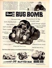 1970 V-DUB BOMB ~ ORIGINAL REVELL AD