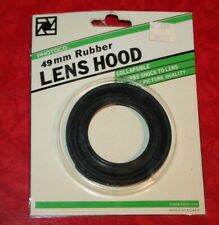 PHOTOCO 49mm Rubber Collapsible LENS HOOD NEW in packaging