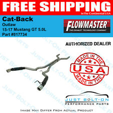 Flowmaster 15-17 Mustang GT 5.0L Outlaw Cat-Back 409S #817734