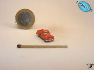 Chevy B3100 Pickup 1952 Z-scale 1/220 Hand-painted Metal Model