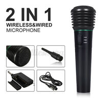 Professional Wireless Handheld Microphone Mic System Home Party Karaoke