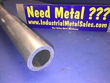 "1-3/4"" OD x 36""-Long x 1/4"" Wall  6061 T6511 Aluminum Round Tube->1.750"" OD"