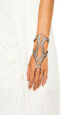 LIONETTE BY NOA SADE Marsalis Glove Hand Ring Bracelet