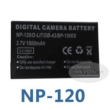 Battery fit TOSHIBA Camileo X-100 H-30 PX1657 PX-1657