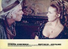 LEE MARVIN  JEANNE MOREAU MONTE WALSH 1970 VINTAGE LOBBY CARD #3