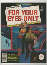 Marvel Super Special Magazine no. 19 James Bond For Your Eyes Only Vf- 7.5 058