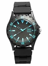 CITIZEN Q & Q Wristwatch QQ009 Divers design Men's Women's Kids F/S from Japan