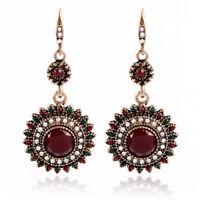 1 Pair Elegant Women Charm Crystal Rhinestone Ear Stud Fashion Earrings Chain