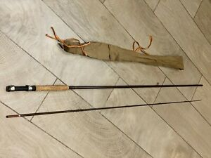 """Fluff Chucker"" 8ft 6in Carp Fly Rod, AFTMA 7-8, Very Lightly Used"