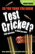 Test Cricket (So You Think You Know)-Clive Gifford