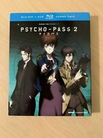 Psycho-Pass: Season Two (Blu-ray/DVD, 2016, 4-Disc Set) (New) (Slipcase)