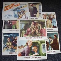 DECISION AGAINST TIME/MAN IN SKY 1950s MOVIE LOBBY CARDS PENDEFORD AIRFIELD ETC