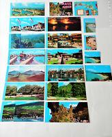 16 Hawaii Hawaiian Maui postcard post card lot some with mini pictures