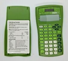Texas Instruments Ti-30x IIS Solar Scientific Calculator TI30XIIS - Green