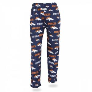 Zubaz NFL Women's Denver Broncos Comfy Lounge Pants, Blue