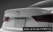 Lexus IS350 (2017-2018) OEM Genuine TRUNK REAR LIP SPOILER (Caviar Black) (223)