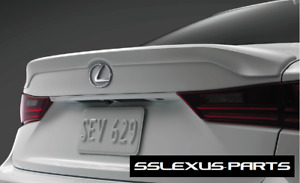 Lexus IS350 (2014-2018) OEM Genuine TRUNK REAR LIP SPOILER (Ultra White) (083)