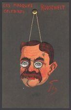 Géo. Les Masques Célèbres. Theodore Roosevelt.