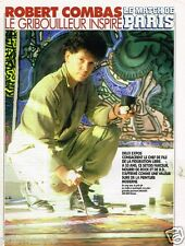 Coupure de Presse Clipping 1991 (3 pages) Robert Combas