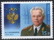 2014. Russia. Mikhail Kalashnikov (1919-2013), Small Arms Designer. MNH. Stamp