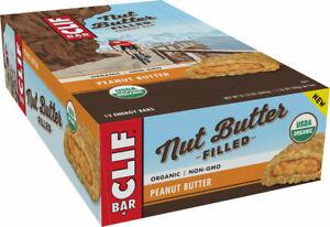 Clif Bar Nut Butter Filled: Peanut Butter Box of 12