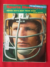 VINTAGE SPORTS ILLUSTRATED JULY15TH 1968 GREEN BAY PACKERS