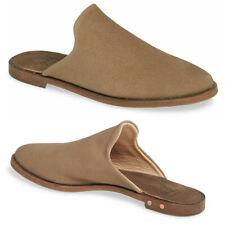 BEEK Siskin Comfort MULE Slide Flats 6.5 Gold Wash Suede LEATHER NEW $325