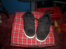 mens op black swede tennis shoes
