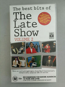 The Best Bits of The Late Show VHS Volume 2 VGC Free Postage Comedy