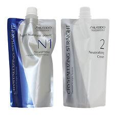 Shiseido Crystallizing Straight Straightener Perm For Natural Hair N1 + N2 400g