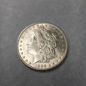 1 $ USA / Amerika Morgan-Dollar 1896 Silber