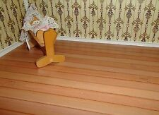 """9114 - Fußboden """"Holzdielen"""" selbstklebende Folie für Puppenhaus (#HD)"""