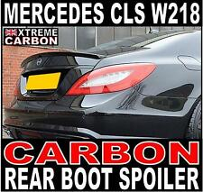 Mercedes CLS W218 AMG Style Genuine Carbon Rear Boot Spoiler UK Stock UK Seller