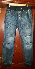 Voi Jeans Men's Cuffed, Jogger Jeans