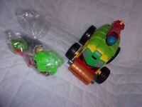 Playmates 2014 Teenage Mutant Ninja Turtles Half-Shell Heroes Series 13 Parts