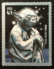 2007 Scott #4205, 41¢, Star Wars - Yoda - Mint NH - Single