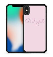 Babygirl White Coloured Wonderful Quote Catchphrase Slogan Phone Case Cover
