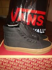 Vans Sk8-Hi Reissue (Canvas Gum) Black/Lghtgm Mens 10