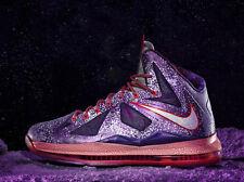 2013 Nike Lebron X 10 All Star nos 13 Uk 12 47,5 Extraterrestre Asg como Corcho Mvp