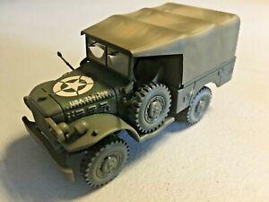 NM Solido Diecast WW2 US Army Doge Jeep 4x4 1/43