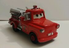 Rescue Squad Fire Truck Mater Disney Pixar Cars 1:55 Scale EUC Red Fire Engine