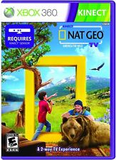 NAT GEO TV XBOX 360 KINECT NEW! AMERICA THE WILD! LEARN FAMILY GAME PARTY NIGHT!