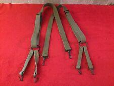 Original Ww2 Usmc M1941 Combat Suspenders Khaki