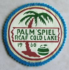 RCAF Royal Canadian Air Force Palm Spiel Cold Lake 1960 Crest Patch